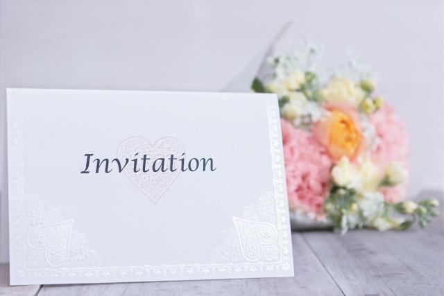 家族婚 招待状