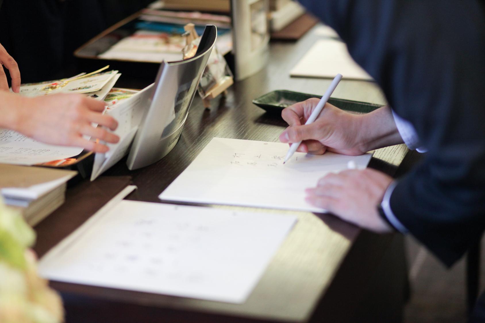 結婚式 芳名帳