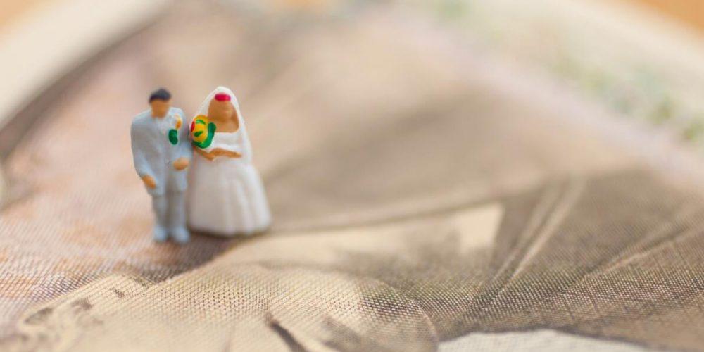 結婚式の予算、みんなどのくらい?
