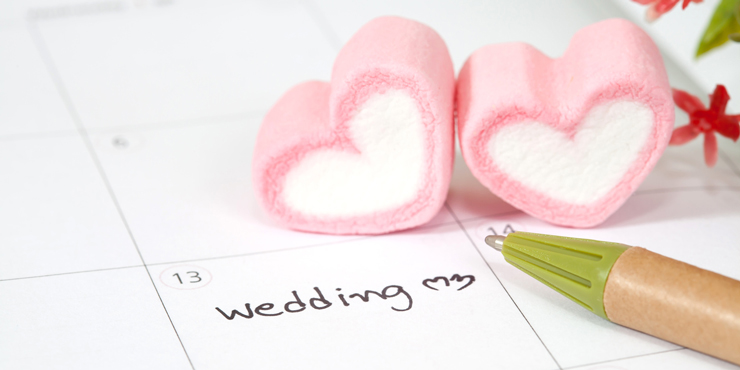 準備はぬかりなく!結婚式までのスケジュールリスト